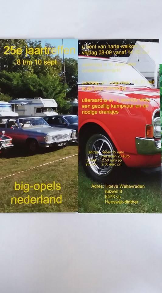 Jaarmeeting Big Opels Nederland