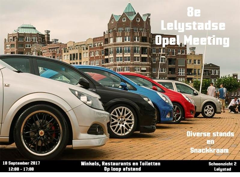 8e Lelystadse Opel Meeting