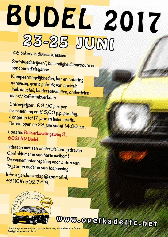 Budel 2017 – Opel Kadett C Club Belgium-Holland