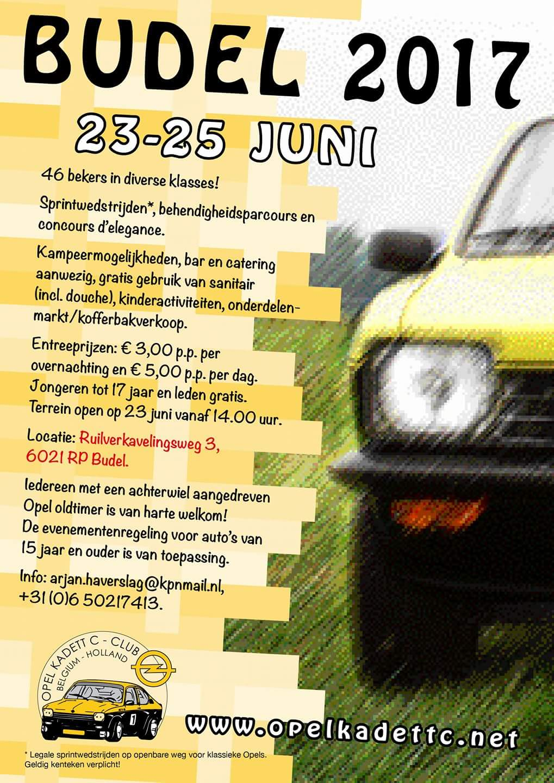 Budel 2017 - Opel Kadett C Club Belgium-Holland