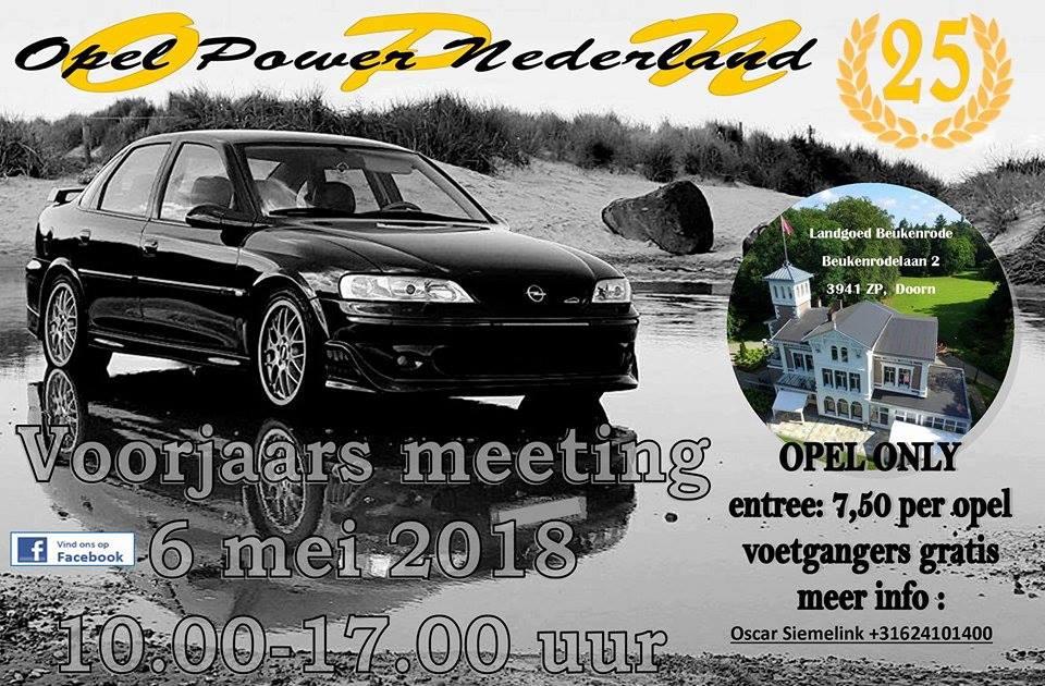 Opel Power Nederland Voorjaarsmeeting 2018