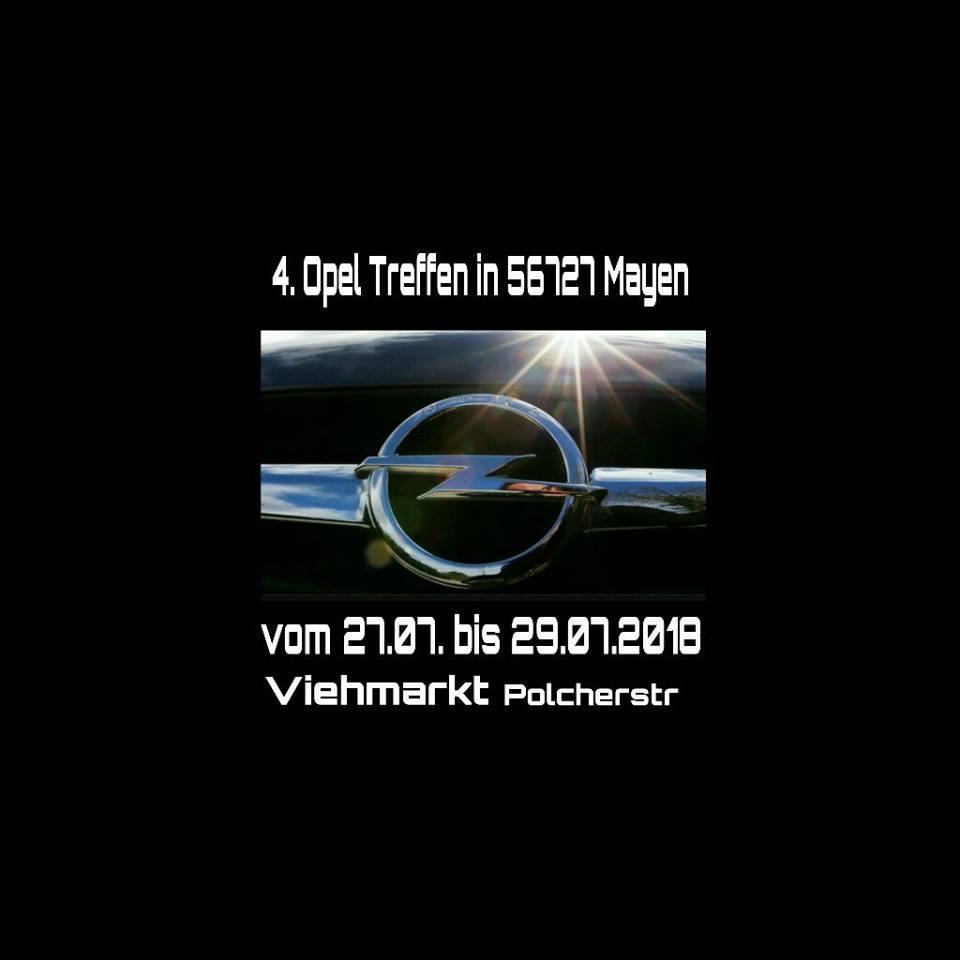 4e. Opel Treffen in 56727 Mayen