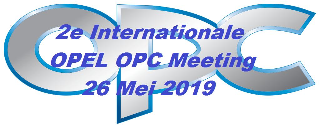 2e Internationale OPEL OPC MEETING 2019