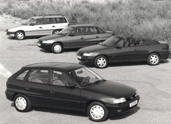 Summer  Meeting  Opel Astra   F  alle modellen
