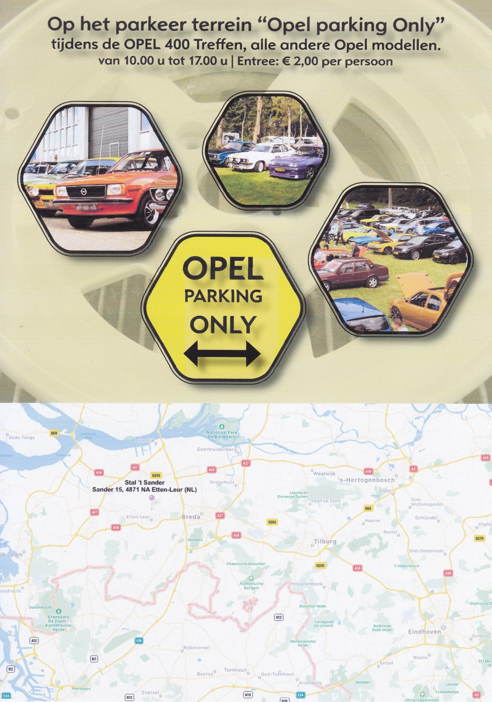 opel parking only