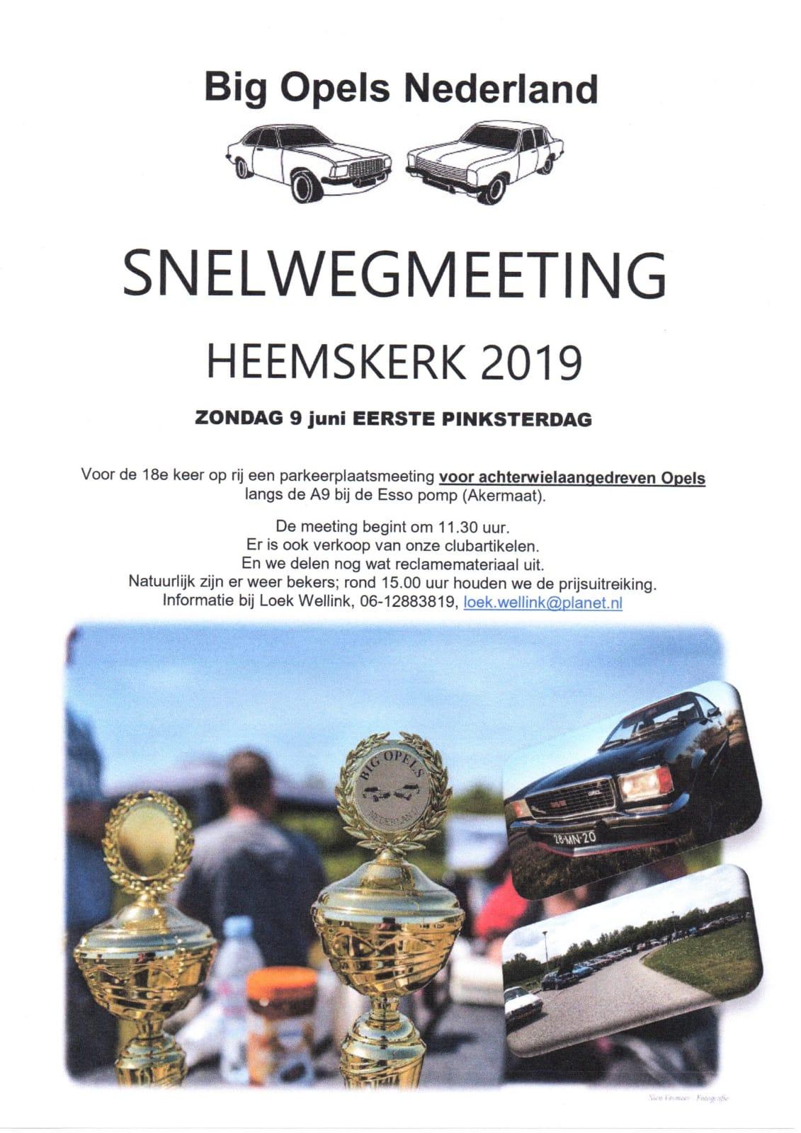 Big Opels Snelwegmeeting
