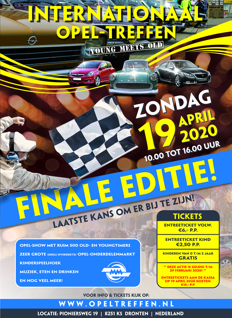 Internationaal Opel-Treffen 2020, Dé Finale