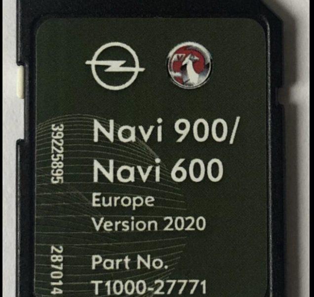 Opel Navi900 Europa 2019-2020 sd kaart voor het Opel Navi900