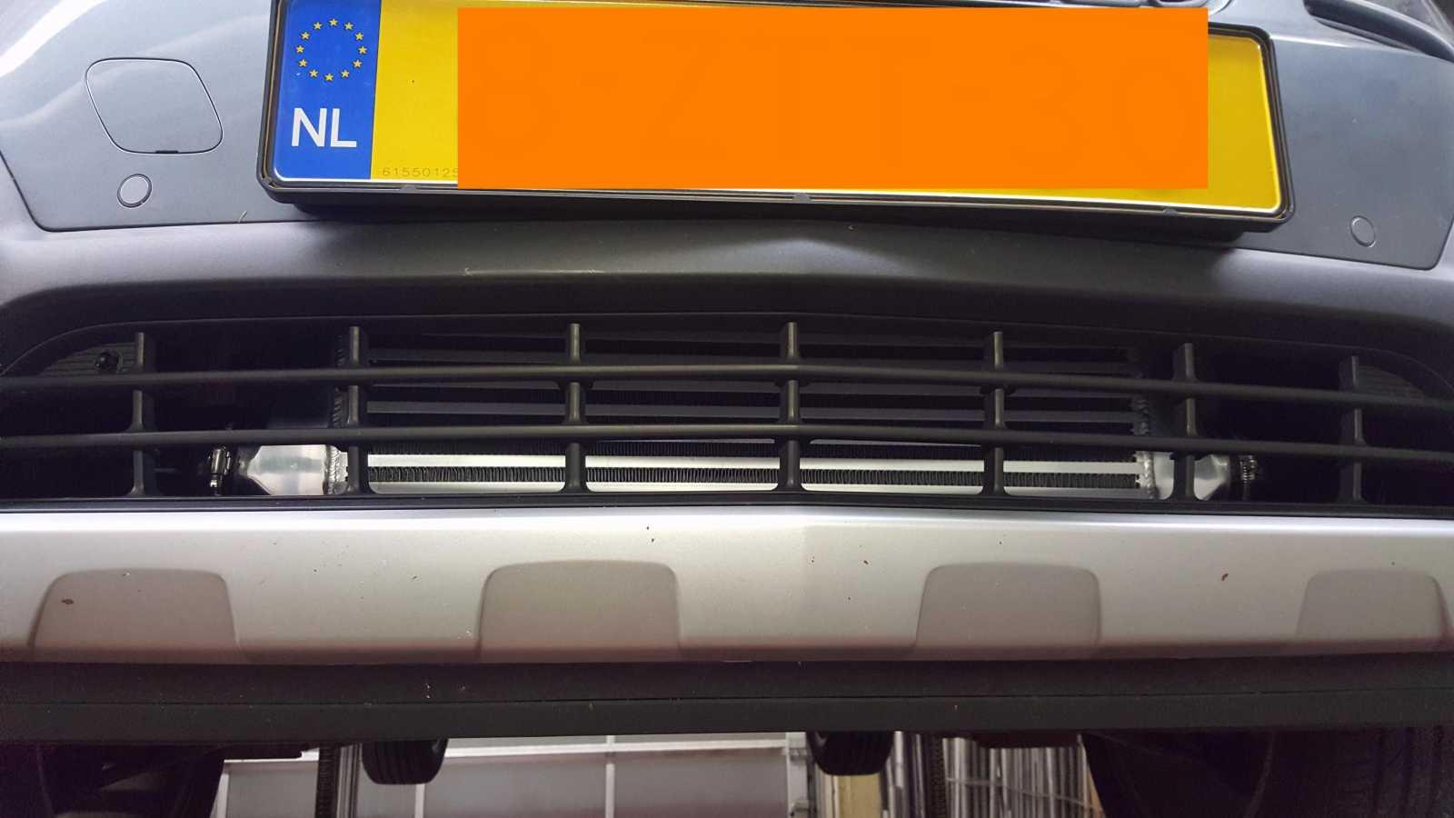 4. Nieuwe intercooler