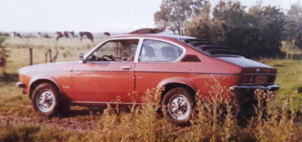 Opel kadett C coupe 1.6S Berlinetta