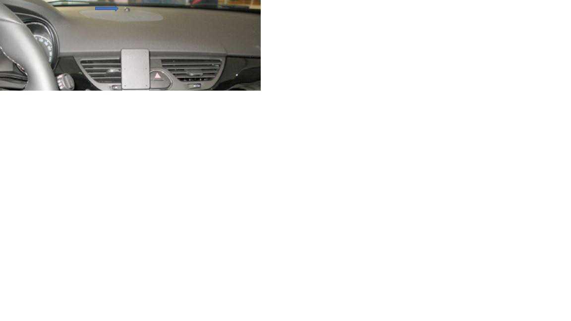 Opel Corsa D - knopje op dashboard